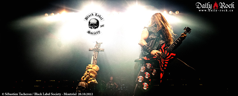 Black Label Society @ le Métropolis, 20.10.2012