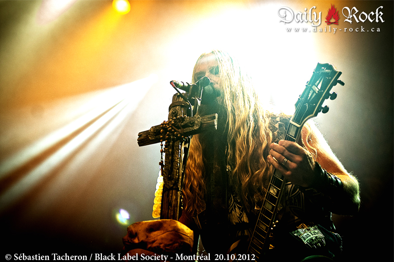 Black Label Society @ Le Métropolis, QC 14.10.2010