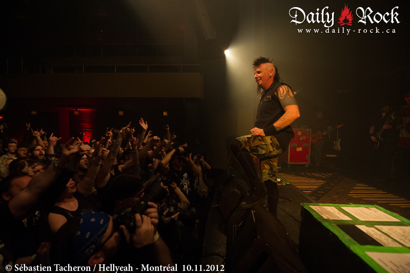 Hellyeah @ Club Soda, 10.11.2012