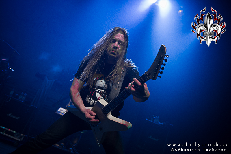 Children of Bodom @ le Métropolis, 15.02.2014