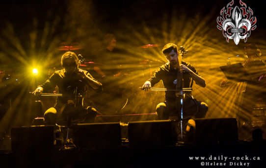 2Cellos @ Centre Bell, 11.04.2018