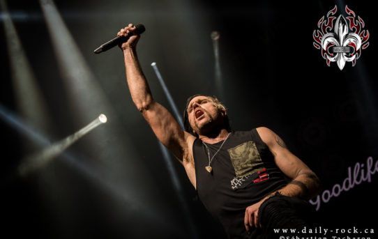 Saturday Rock Fever – Une soirée avec Three Days Grace, Nothing More et Fozzy